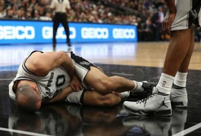 Manu Ginóbili passa por cirurgia após lesão nos testículos - The Playoffs