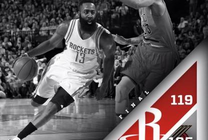 Em dia inspirado, James Harden lidera Rockets em virada contra Blazers - The Playoffs