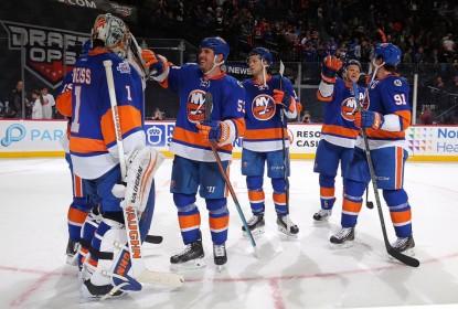 New York Islanders empolga em mais uma vitória e goleia Detroit Red Wings - The Playoffs