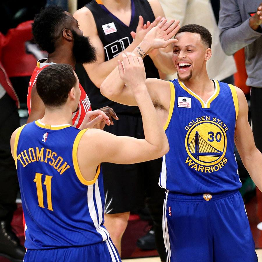 klay thompson, stephen curry, golden state warriors