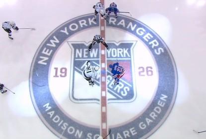 Rangers perdem em casa para os Kings em 5-4 - The Playoffs