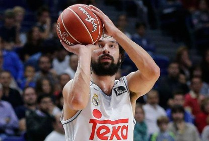Sergio Llull marca buzzer beater do meio da quadra pela Liga ACB - The Playoffs