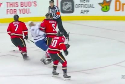 Nazem Kadri pode ser suspenso após jogo contra o Calgary Flames - The Playoffs