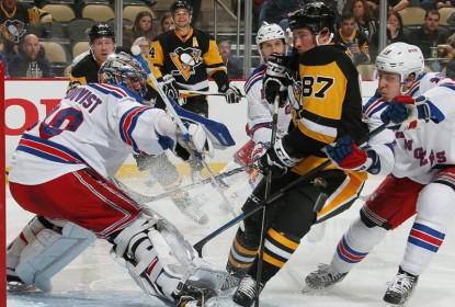 Rangers batem Penguins por 3 a 0 fora de casa - The Playoffs