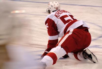 Niklas Kronwall é colocado na lista de lesionados dos Red Wings - The Playoffs
