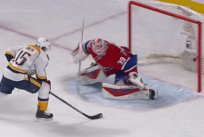 Predators voltam a vencer no shootout e superam Canadiens - The Playoffs
