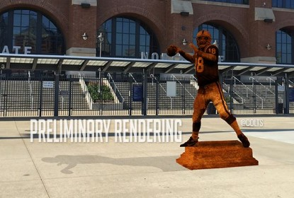 Colts vão construir estátua em homenagem a Peyton Manning - The Playoffs