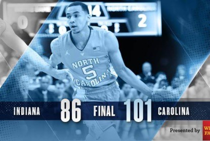 North Carolina supera Indiana e garante vaga no Elite Eight - The Playoffs