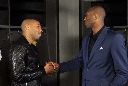 Em papo descontraído, Thierry Henry e Kobe Bryant falam sobre futebol - The Playoffs