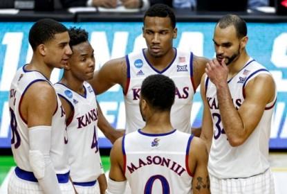 Com dupla inspirada, Kansas avança para o Sweet Sixteen do March Madness - The Playoffs