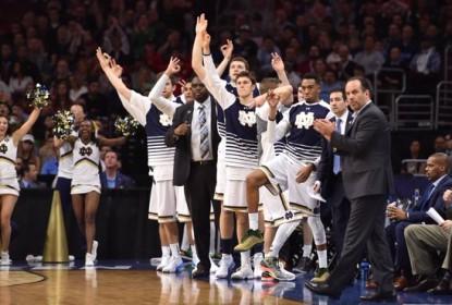 Em jogo dramático, Notre Dame avança no March Madness - The Playoffs