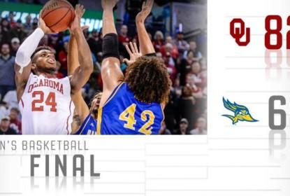Oklahoma vence Cal State Bakersfield e avança para a segunda fase do March Madness - The Playoffs