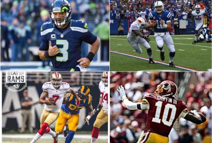Ascensão e queda de promissores quarterbacks - The Playoffs