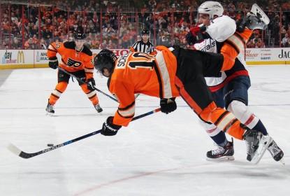 Washington Capitals perde para Philadelphia Flyers nos shootouts por 2-1 - The Playoffs