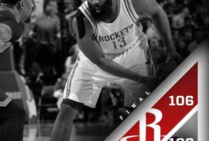 James Harden comanda Rockets em vitória apertada contra Cavs - The Playoffs