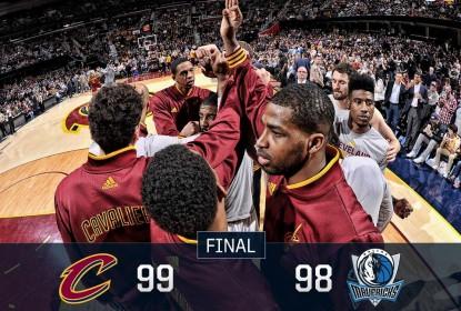 Sem LeBron, Cleveland Cavaliers sofre mas vence Dallas Mavericks - The Playoffs