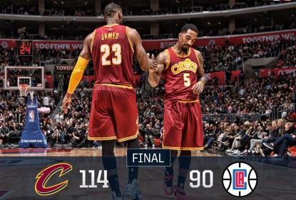 Com chuva de bolas de três, Cleveland Cavaliers bate Los Angeles Clippers - The Playoffs