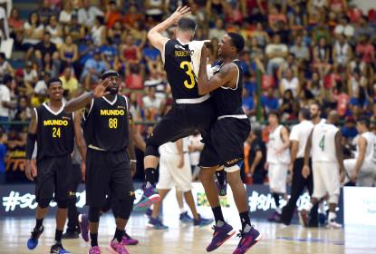 NBB Mundo vence NBB Brasil no Jogo das Estrelas 2016 - The Playoffs