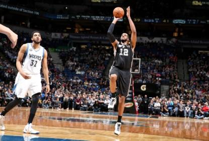 Com grande atuação de LaMarcus Aldridge, San Antonio Spurs bate Minnesota Timberwolves - The Playoffs