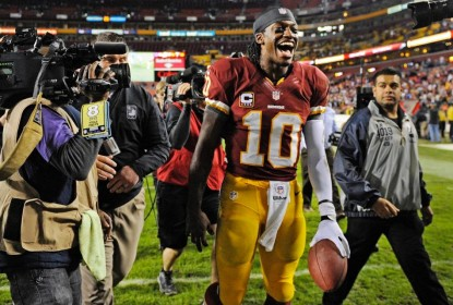 """Quero ser titular de novo"", afirma quarterback Robert Griffin III - The Playoffs"
