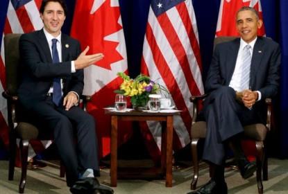 "Obama ""trolla"" o primeiro ministro do Canadá usando a Stanley Cup - The Playoffs"