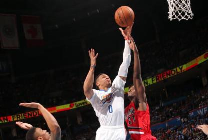 Thunder derrota os Blazers com mais um triple-double de Russell Westbrook - The Playoffs
