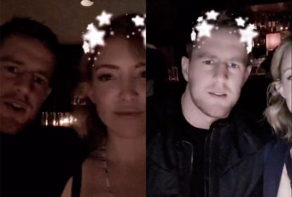 J.J. Watt e Kate Hudson compartilham encontro via Snapchat - The Playoffs