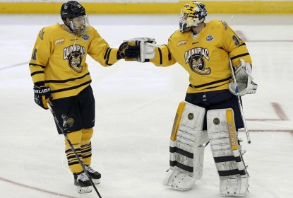 Quinnipiac vence Boston College por 3 a 2 e chega a final do Frozen Four da NCAA - The Playoffs