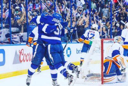 Lightning vencem Islanders com dois gols de Johnson e empatam série em 1-1 - The Playoffs