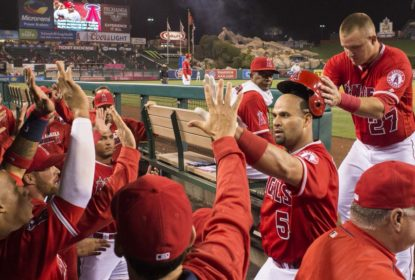 Angels vencem com dois home runs de Albert Pujols - The Playoffs