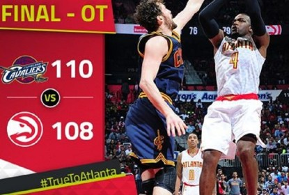 LeBron James e Kyrie Irving comandam vitória sofrida do Cleveland Cavaliers - The Playoffs