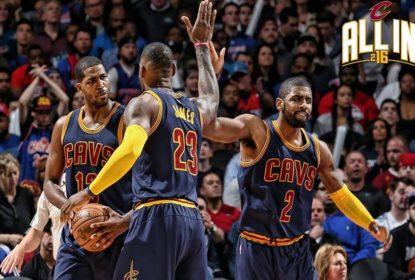 Trio comanda vitória de Cleveland Cavaliers; Boston Celtics triunfa em noite de Isaiah Thomas - The Playoffs