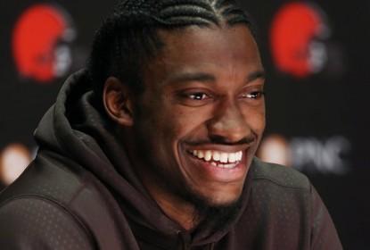 Em entrevista, RG3 diz estar feliz por chegar a Cleveland - The Playoffs