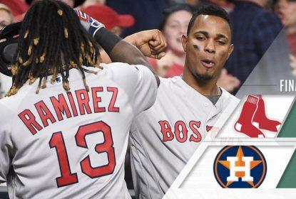 Red Sox batem Astros após duelo de 12 entradas - The Playoffs