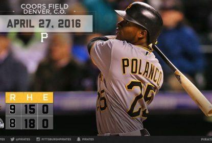 Pirates vencem Rockies em jogo de 12 entradas - The Playoffs