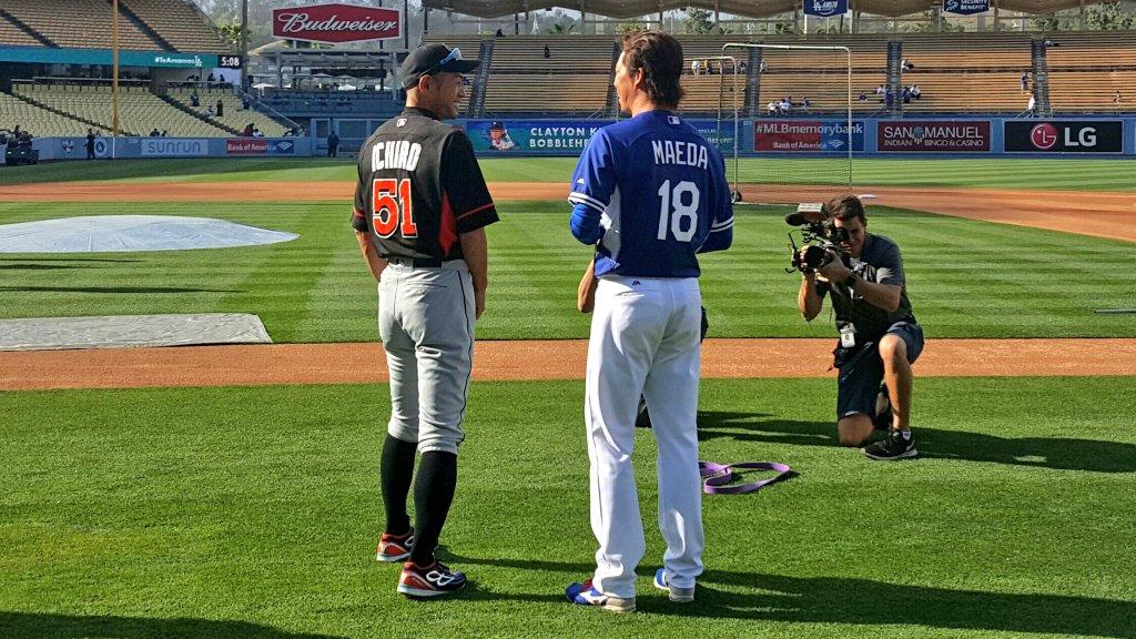 Ichiro e Maeda