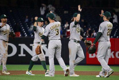 Athletics batem Yankees com show de Home Runs - The Playoffs