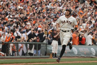 San Francisco Giants vence Los Angeles Dodgers por 12 a 6, e empata na divisão - The Playoffs