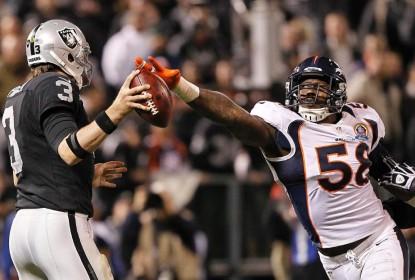 Contra o tempo, Denver Broncos marca reunião por telefone com Von Miller - The Playoffs