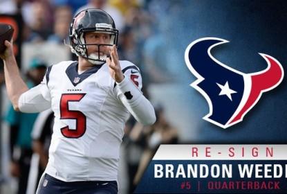Houston Texans renova com Brandon Weeden por duas temporadas - The Playoffs