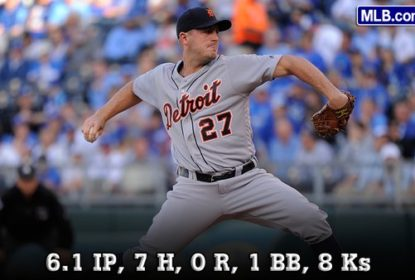 Jordan Zimmermann consegue 3ª vitória com os Tigers e mantém ERA 0.00 - The Playoffs