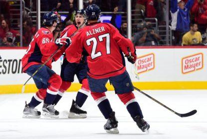 Com hat-trick de T.J. Oshie, Capitals abrem com vitória série contra Penguins - The Playoffs
