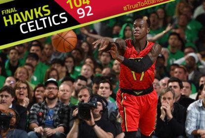 Atlanta Hawks vence e elimina Boston Celtics na primeira rodada do Leste - The Playoffs