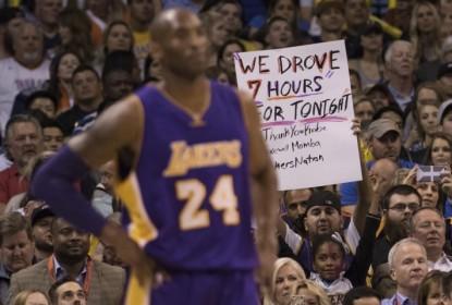Oklahoma City Thunder massacra Los Angeles Lakers no último jogo de Kobe como visitante - The Playoffs