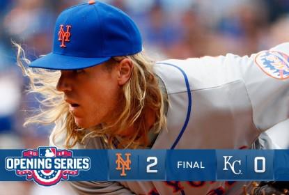 Syndergaard brilha e Mets estragam festa dos Royals - The Playoffs