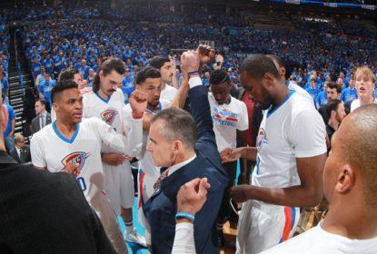 Em casa, Oklahoma City Thunder vence Dallas Mavericks e fecha a série em 4 a 1 - The Playoffs