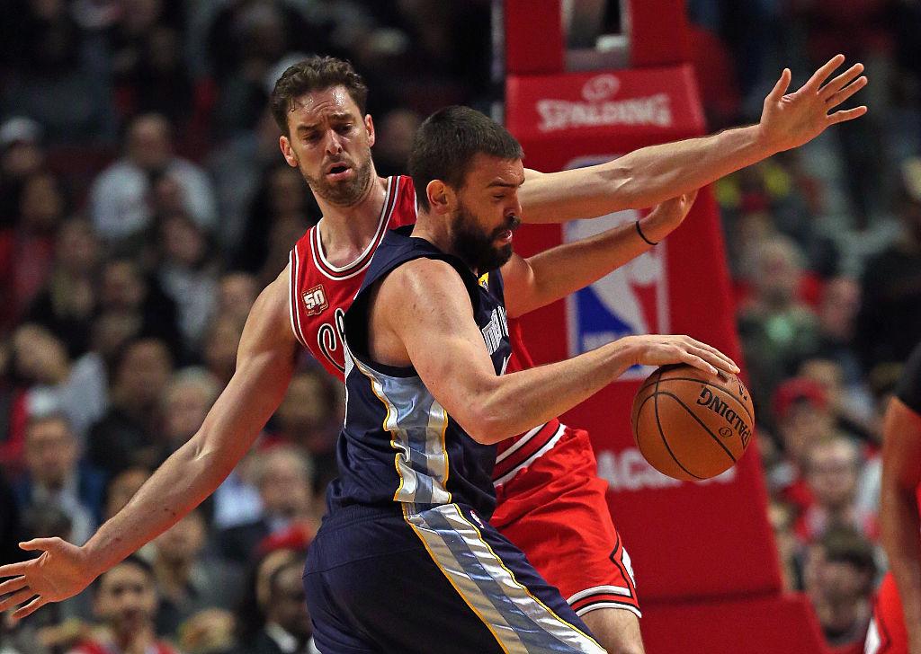 Marc enfrenta Pau em confronto entre Grizzlies e Bulls