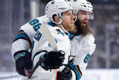 Sharks vencem Kings novamente em Los Angeles - The Playoffs