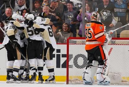 Penguins fazem seis e complicam rival Flyers - The Playoffs