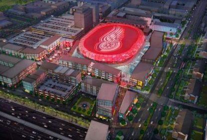 Nova arena dos Red Wings já tem nome definido - The Playoffs